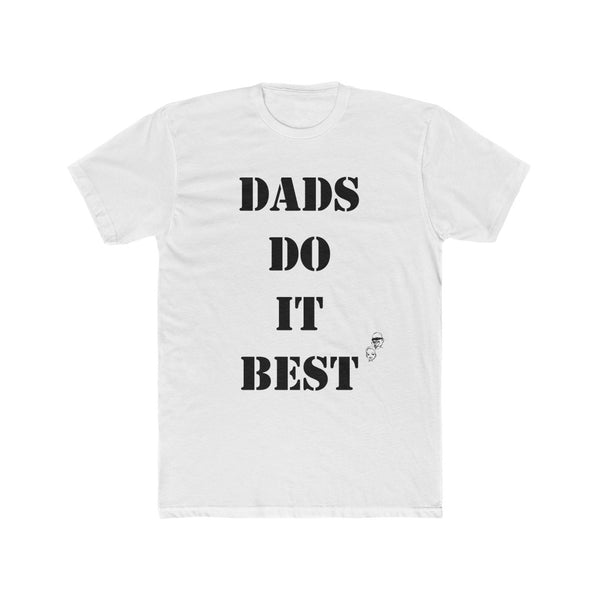 White OG T-Shirt for Single Dads