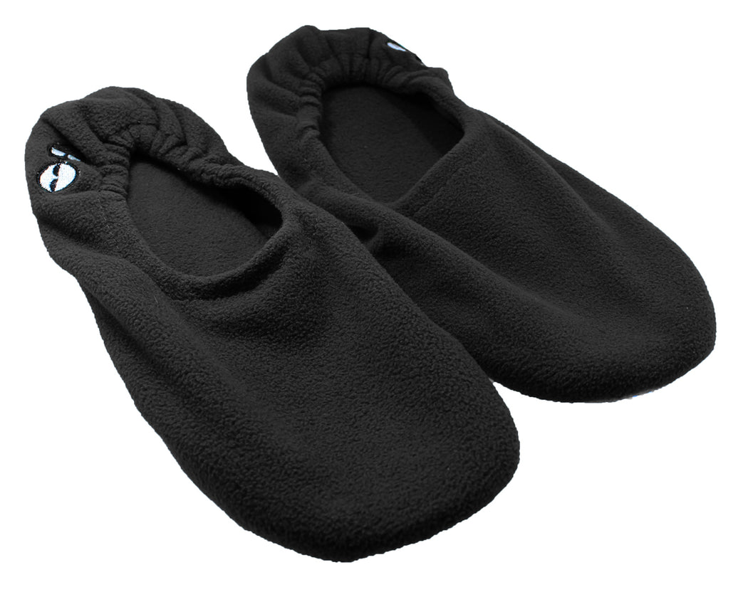 Men's Memory Foam Travel Slippers - Black