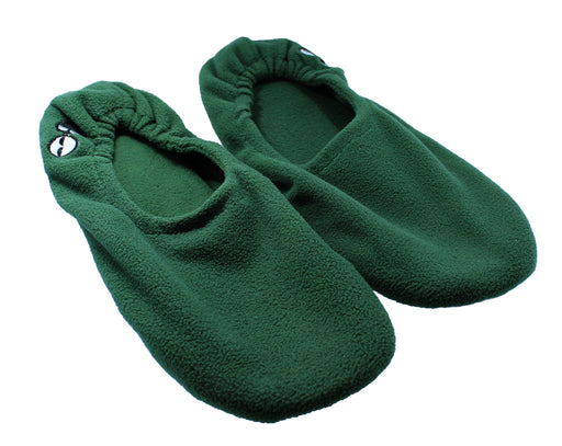 Men's Memory Foam Travel Slippers - Green