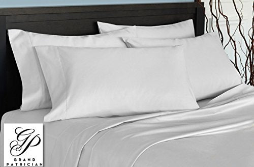 Grand Patrician 720TC Thread Count Dobby Stripe 4-piece Sheet Set