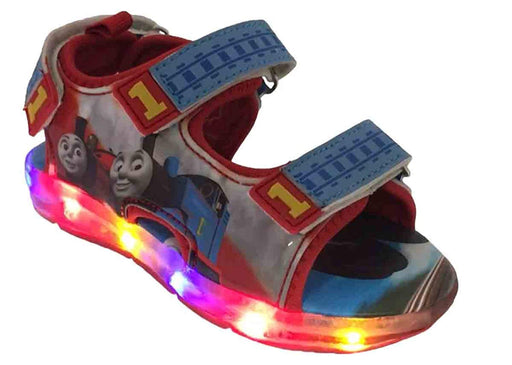 Thomas The Train Light-Up Toddler Boys Sport Sandal