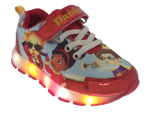 Daniel Tiger Toddler Athletic Shoes with Lights