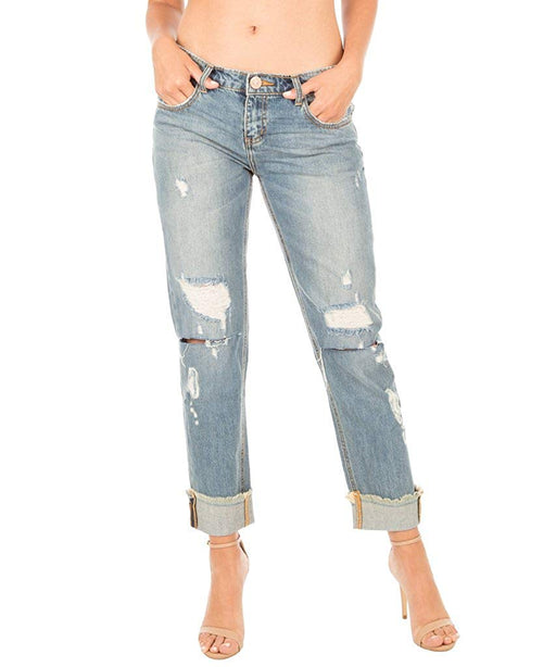 One Teaspoon Women's Blue Buoy Awesome Baggies Jeans
