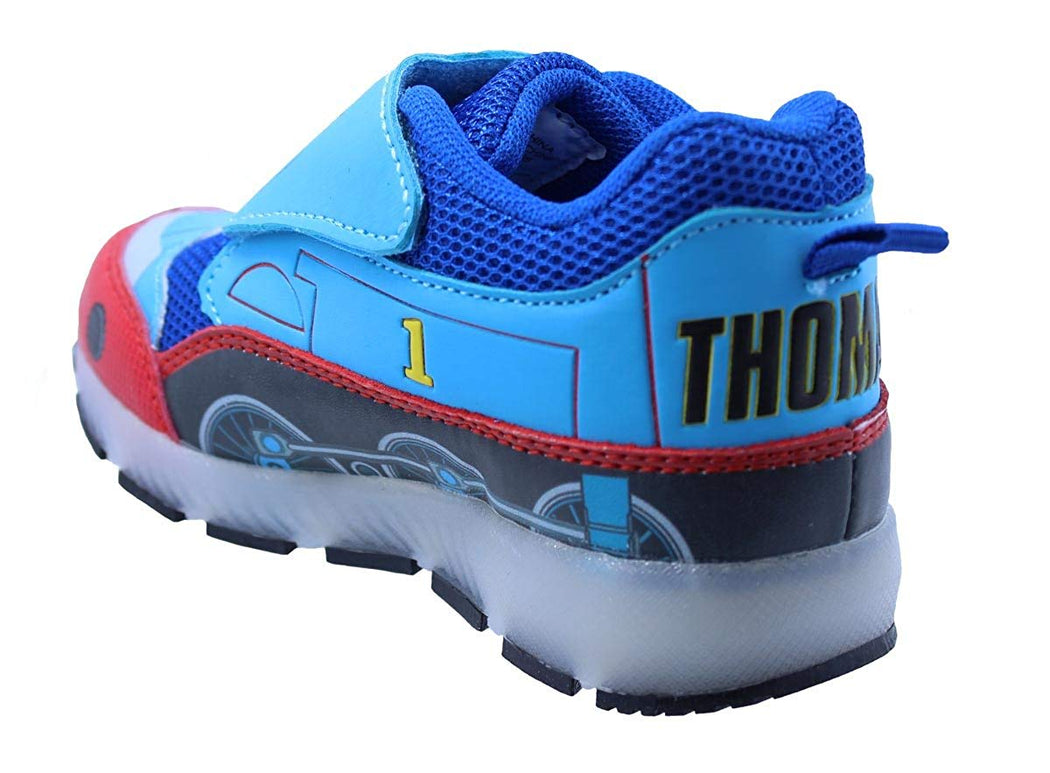 Thomas The Train Toddler Boys' Light-Up Train Athletic Running Shoe Sneaker Blue