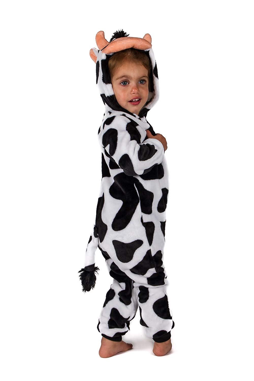 Jammers Baby Infant Toddler Onesie Animal Costume - Cow