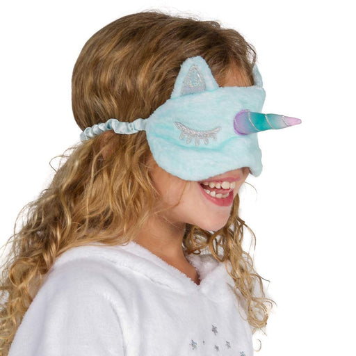 Peace Love & Dreams Girls Unicorn Sleep Mask and Socks Set