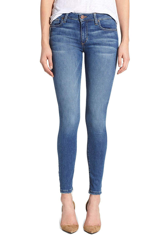 Women's Joe's Jeans Medium Blue Roamie Icon Skinny Distressed Jeans