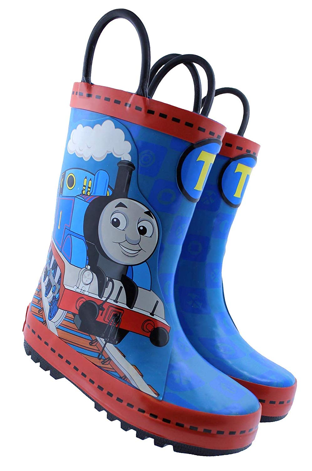 Thomas The Train Toddler Boys' Pull-On Rubber Rain Boots