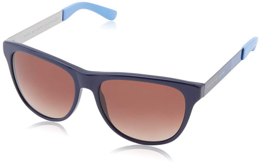 Marc by Marc Jacobs Womens Oversize Sunglasses in Blue MMJ408S 6WC 55