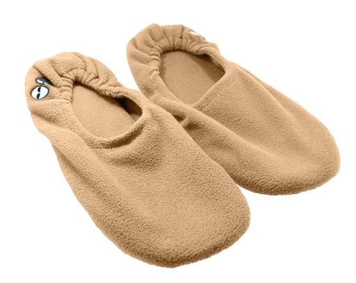 Women's Memory Foam Travel Slippers - Beige