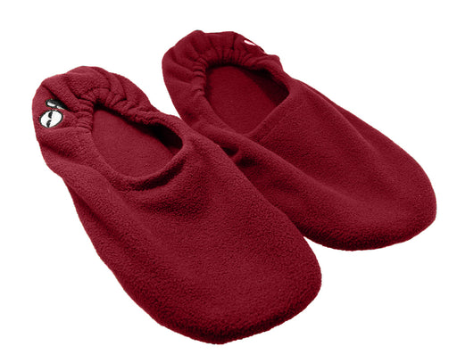 Women's Memory Foam Travel Slippers - Red
