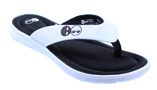 Women's Memory Foam Thong Flip Flop Sandals