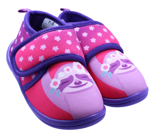 Toddler Sloth Daycare Slippers