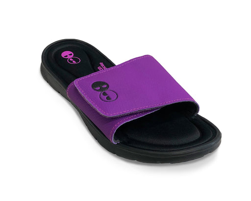Women's Purple Memory Foam Slide Sandals