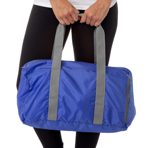 Black Foldable Lightweight Travel Gym Sports Bag