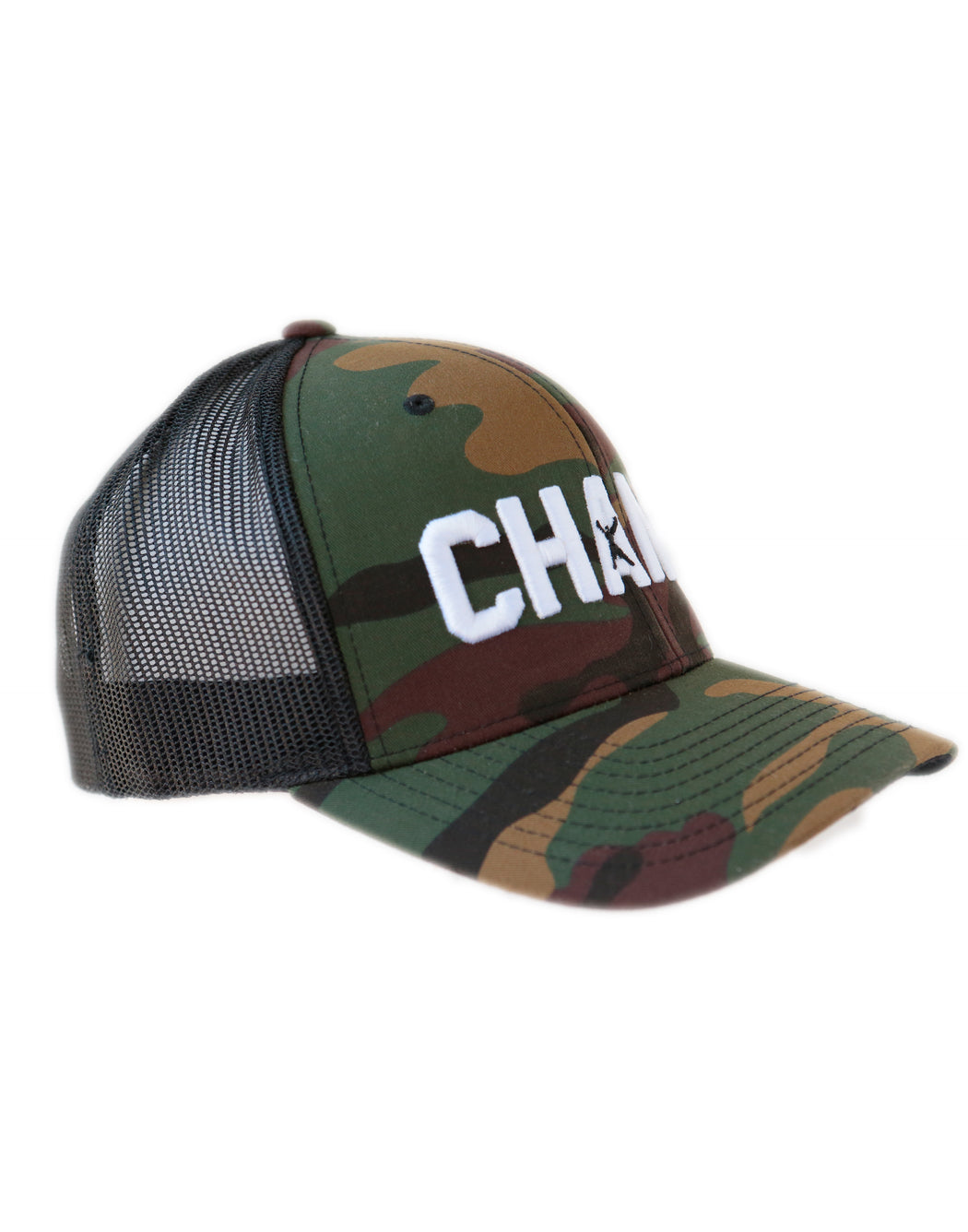 Boxer Men's Adjustable Snapback Champ Camo Baseball Cap