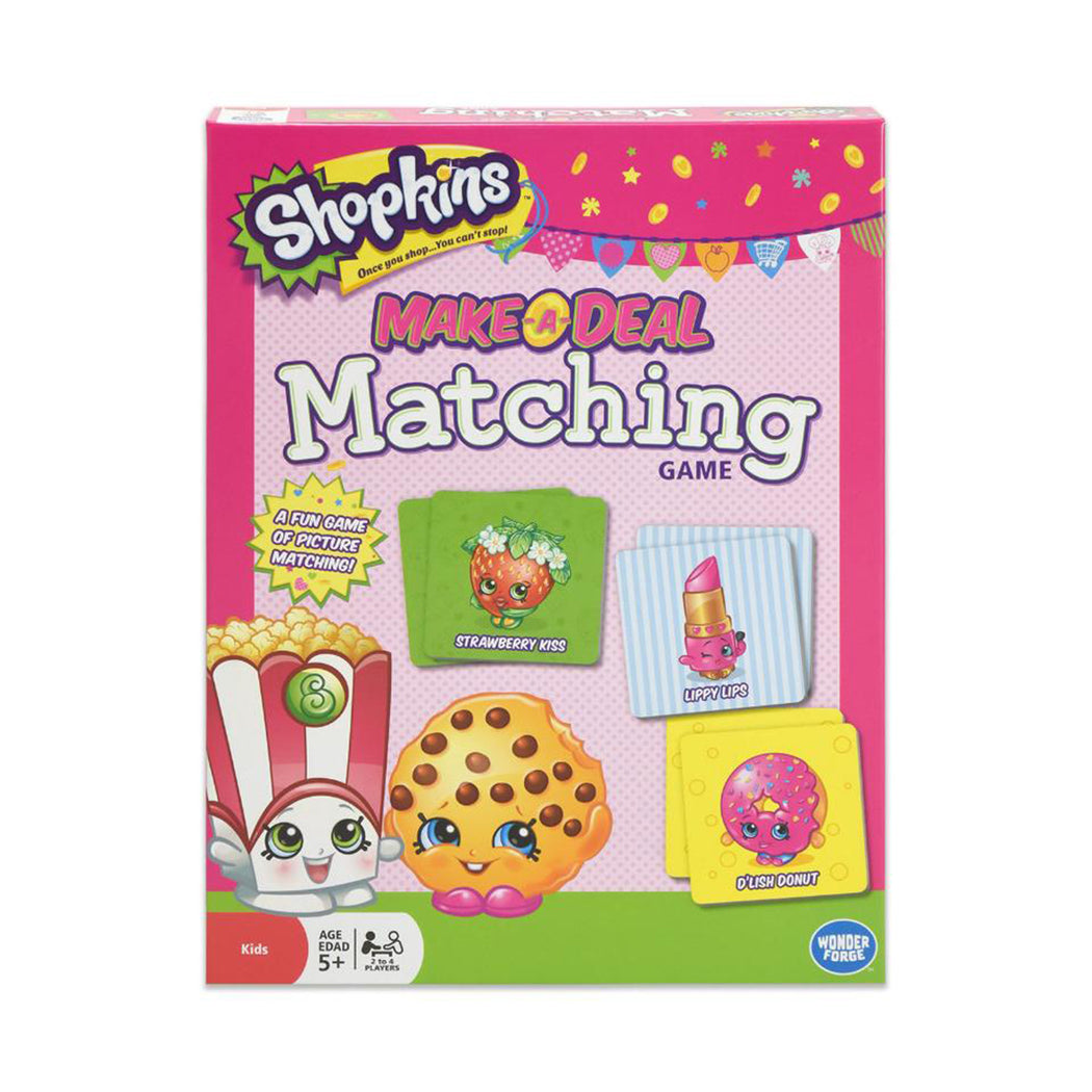 shopkins matching board game
