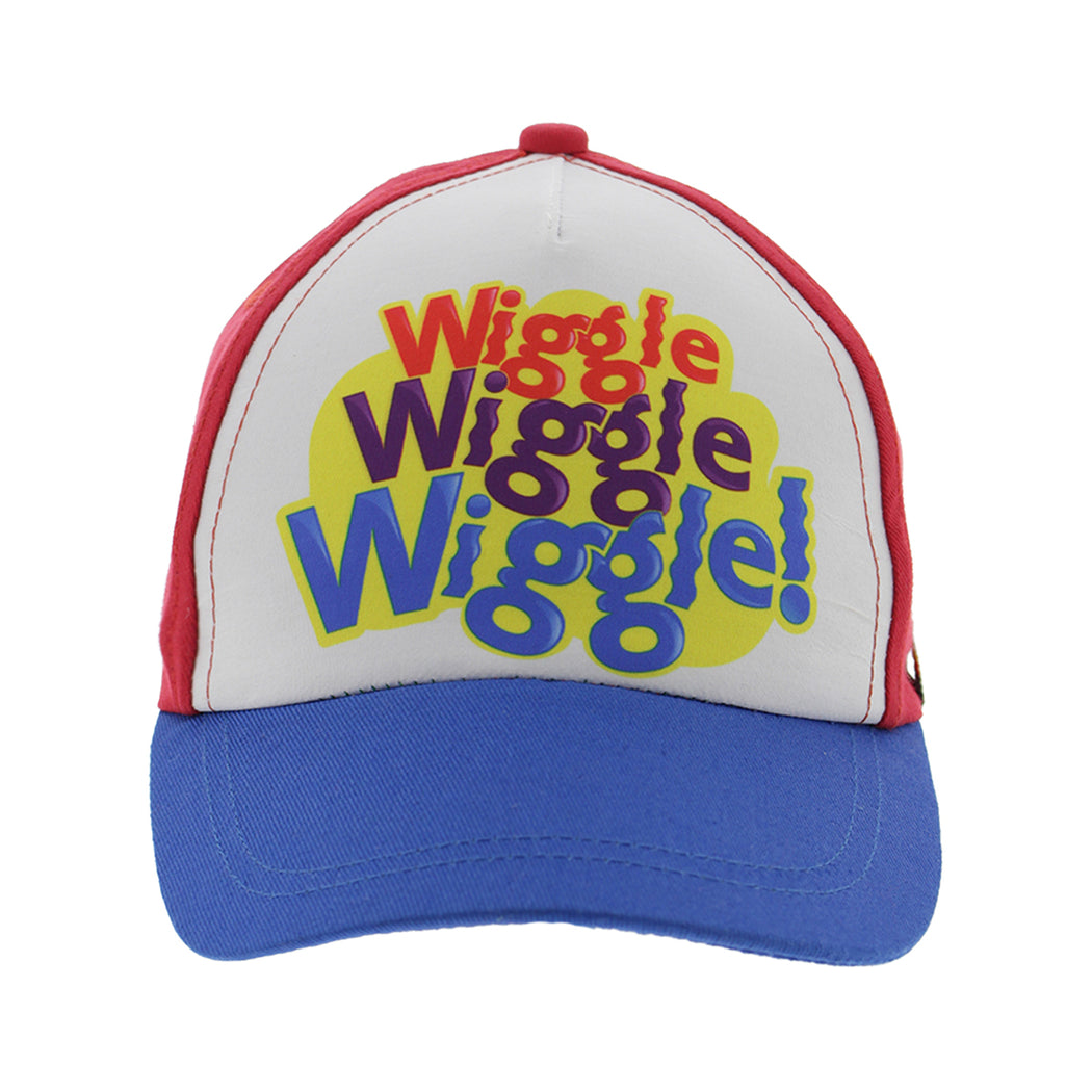 The Wiggles Baseball Cap for Toddlers, Age 2-3, Red