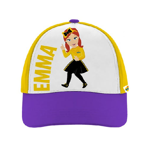 The Wiggles Emma Character Baseball Cap for Girls, Age 4-6, Yellow