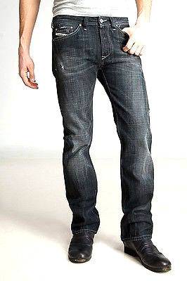 Men's Diesel Viker 8UP Regular Straight Leg Dark Wash Jeans - SURPLUS CLOTHING  - 1