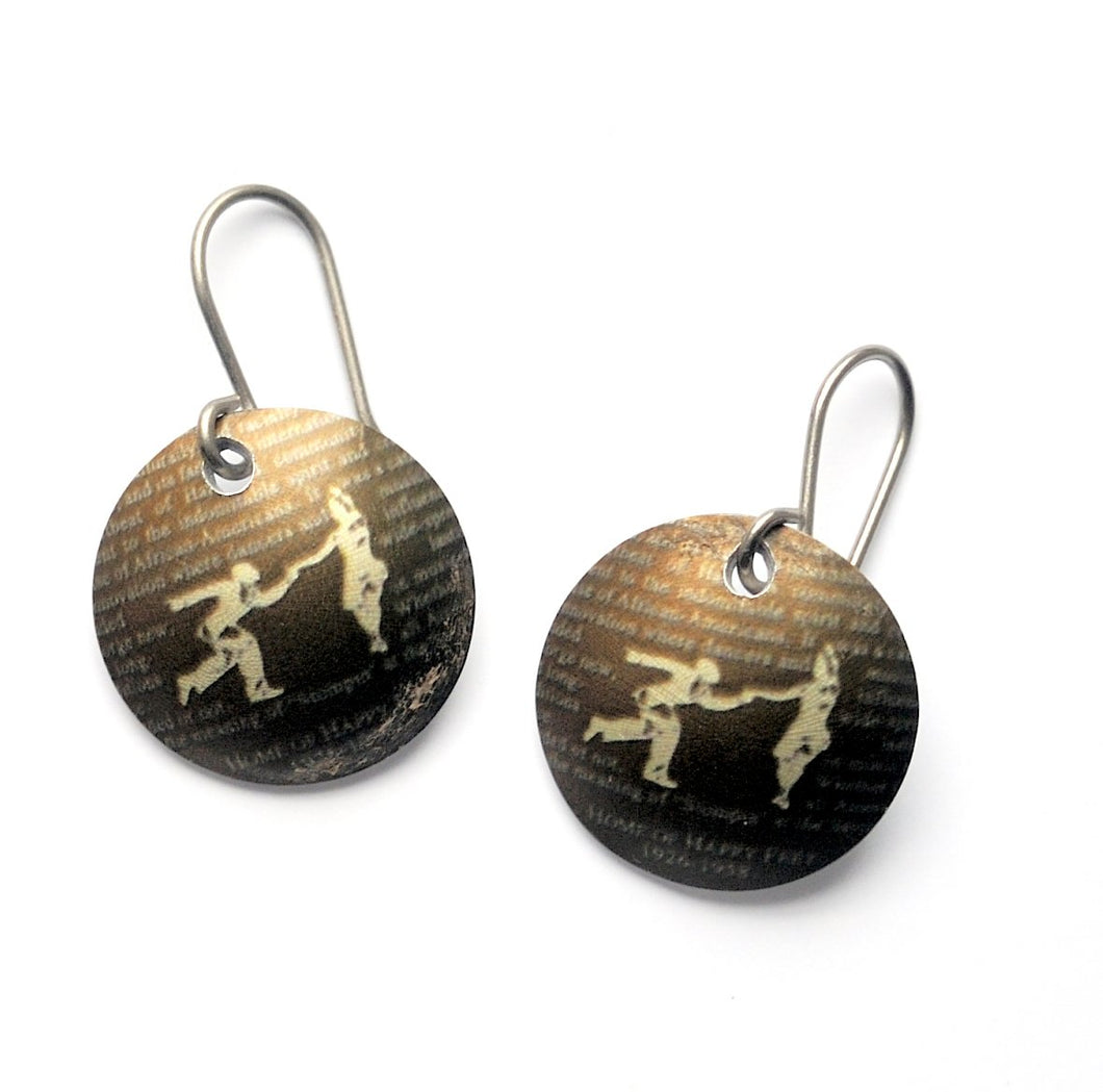 Savoy lindy hop earrings