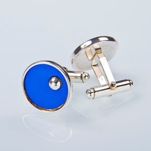 "Cuff links ""On the green"""