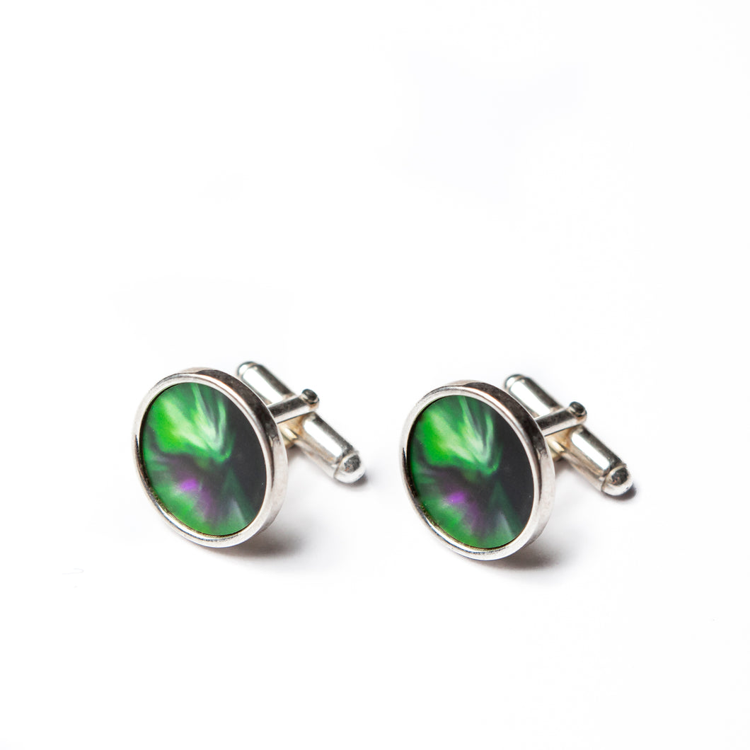 Cuff links Aurora Sky
