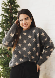 Starry-Eyed Babe Sweater