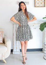 Wild About You Baby Doll Tiered Dress