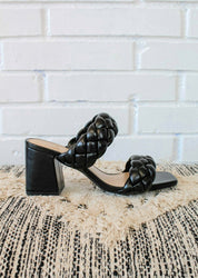 Mostly Trouble Heel - Black