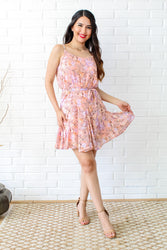 Floral Perfection Dress - Light Pink
