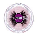 WISESHE Mili 3D Mink Light Weight Natural Looking Soft Reusable Eyelashes |Hand Made|