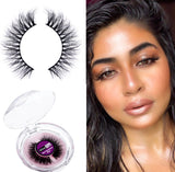 WiseShe Super Light weight & Natural Looking Mink Lashes (Combo pack of three)