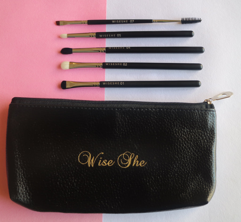 Wise She Premium Smoky Eye Makeup Brush Set of 5