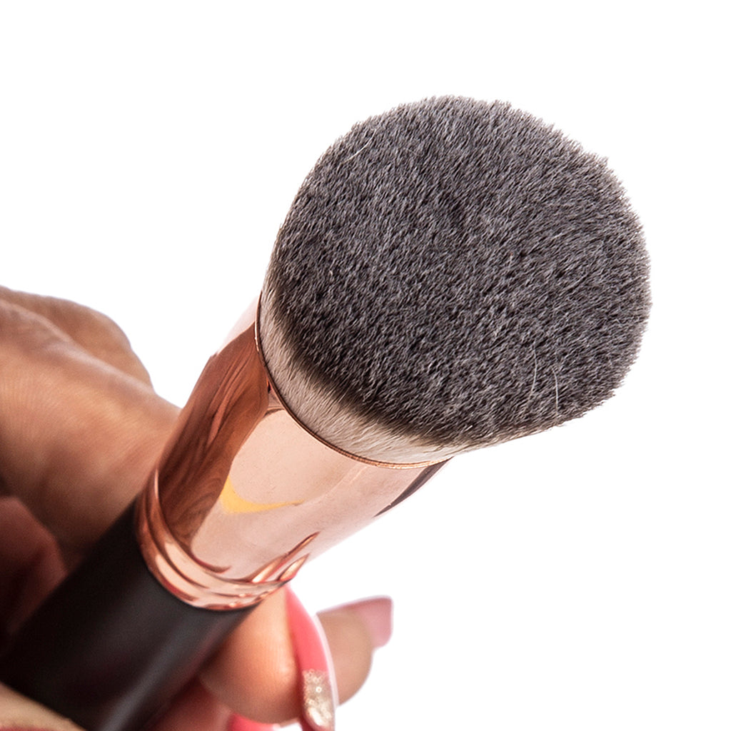 WISESHE PRO Foundation Brush Liquid, Cream, and Powder Buffing, Blending Face Brush Full Coverage