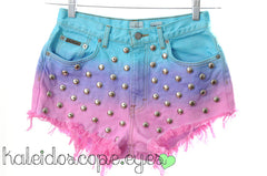 STUDS added to your shorts