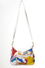 80s Rainbow Patchwork Crossbody Bag