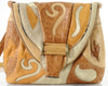SHARIF Abstract Leather Shoulder Bag
