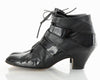 Patent Leather Lace Up Heels 9