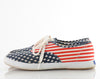 90s Keds Lace Up American Flag Sneakers 8.5
