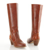 70s Tall Leather Hippie Riding Boots 9.5