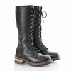 90s Tall Lace Up Combat Boots 7