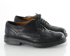 90s Lace Up Wingtip Chunky Shoes