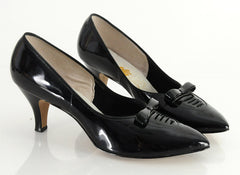 50 Patent Leather Pinup Heels 10.5