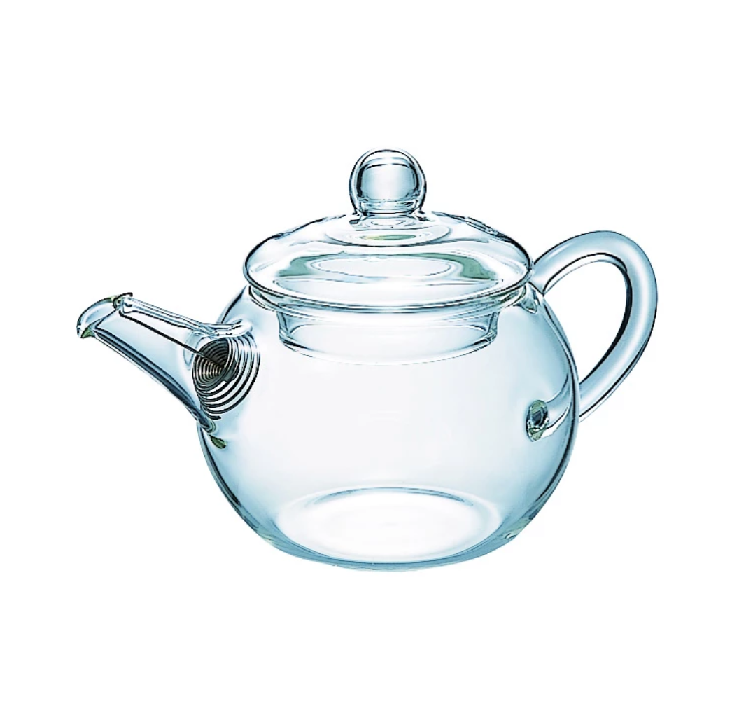 Little glass Japanese teapot