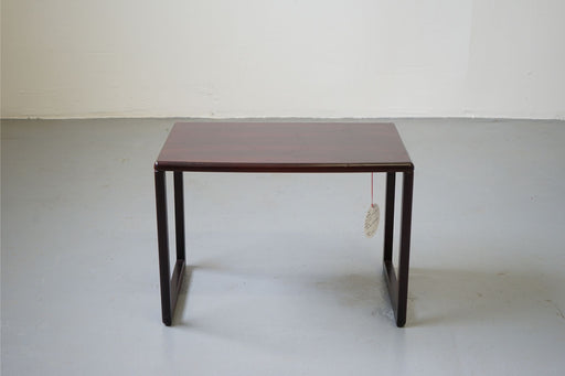 1 Scan Modern Side Table Made With Rosewood - (D548)