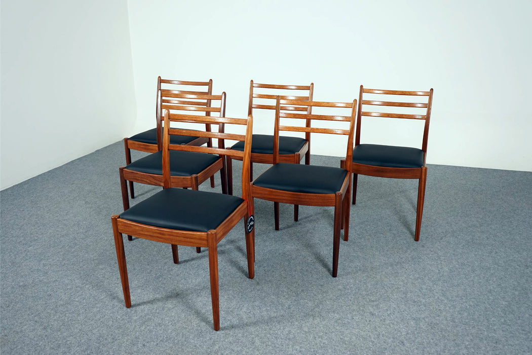 6 Vintage Design Teak Dining Chairs For G Plan - (D634)