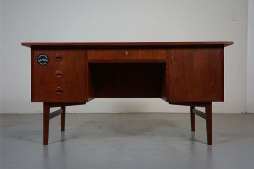 A Danish Desk Made With Teak - (311-040)