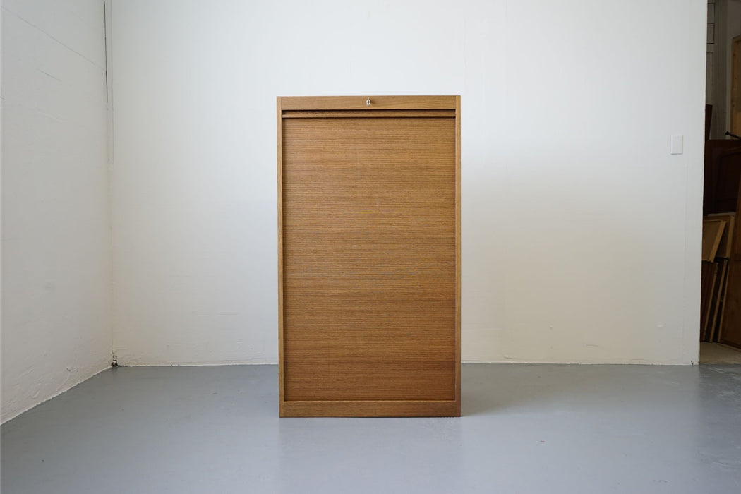 A Danish File Cabinet Made With Wenge - (312-228)