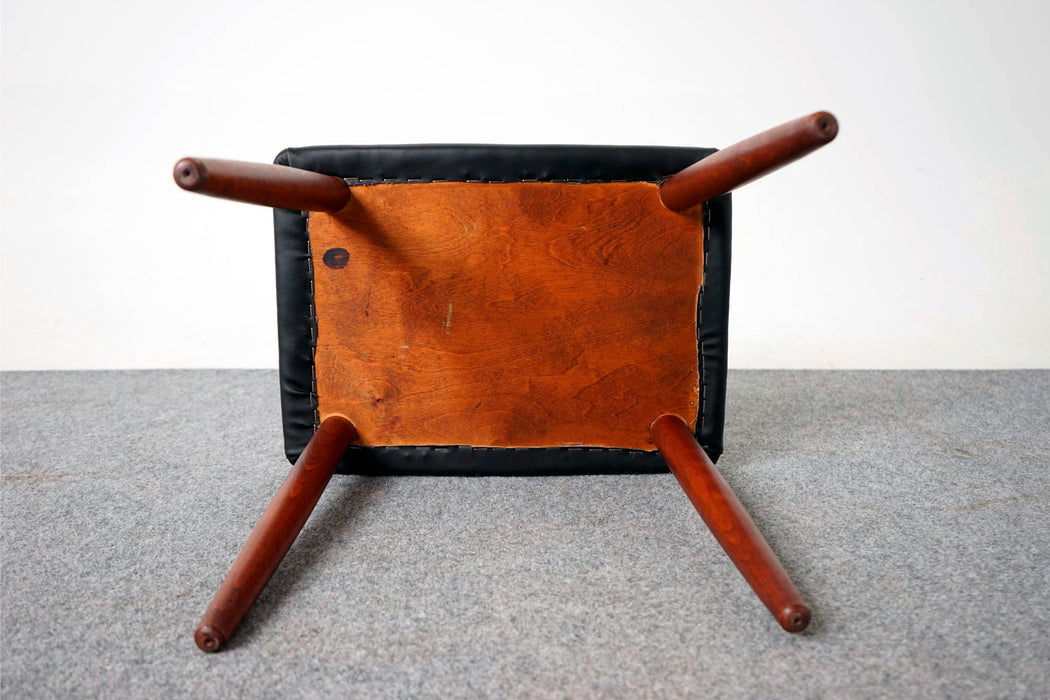 Danish Teak Footstool - (316-203.3)